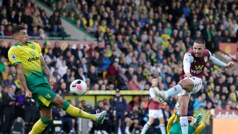 Conor Hourihane scores Villa's fourth goal