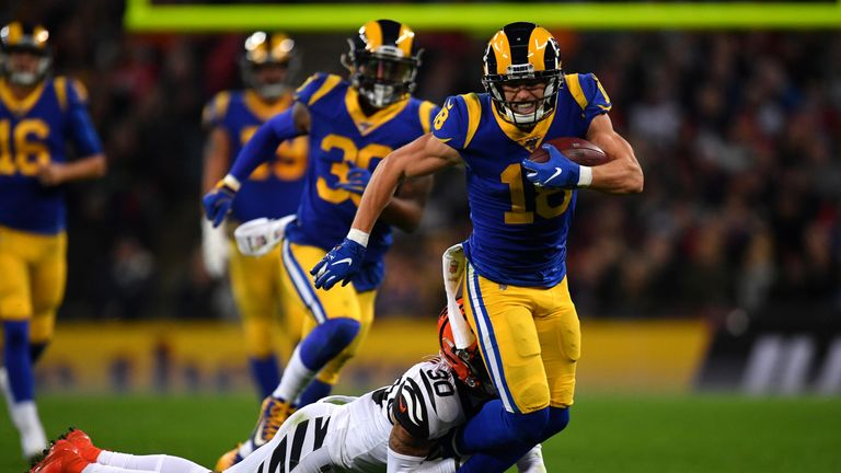 Cooper Kupp tore his ACL last season but has bounced back in a big way
