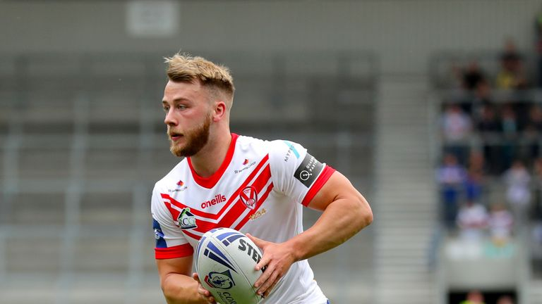Danny Richardson is on the move from St Helens