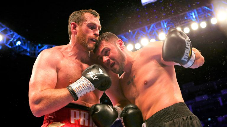 Dave Allen has traded punches with David Price again in sparring