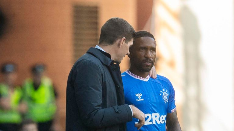 Steven Gerrard had spoke of his desire for Rangers to sign Jermain Defoe on a permanent basis
