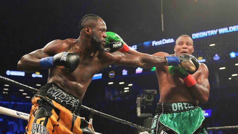 Deontay Wilder beat Luis Ortiz in their first fight in March 2018