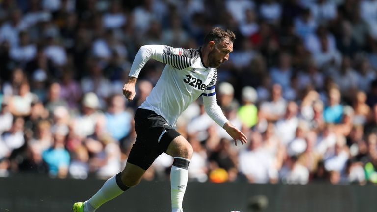 Derby sack Richard Keogh a month after being injured in auto crash