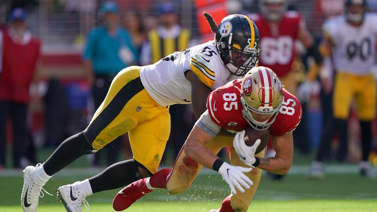 Devin Bush has had an instant impact for the Steelers' defense