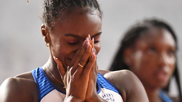 Asher-Smith set a new national record in the final