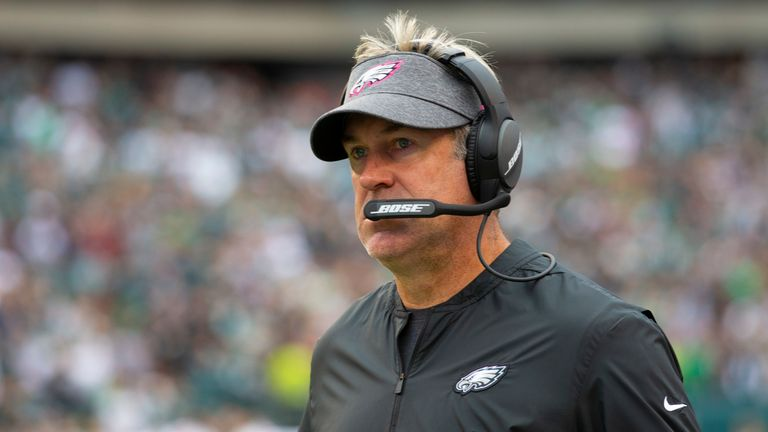 Eagles head coach Doug Pederson expressed confidence in his team ahead of Sunday's huge game
