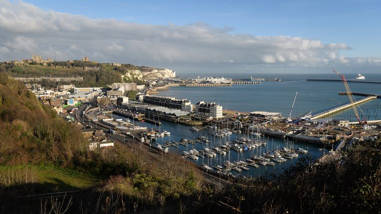 Hunter would drive down to Dover from London every weekend and swim for hours around the harbour