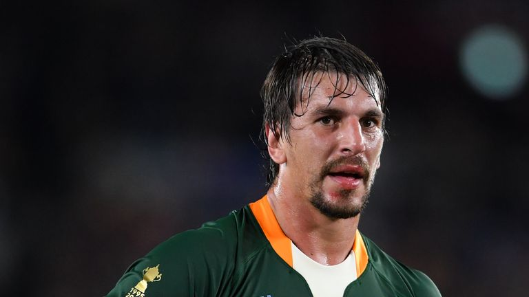 Etzebeth has vehemently denied allegations of racial abuse.