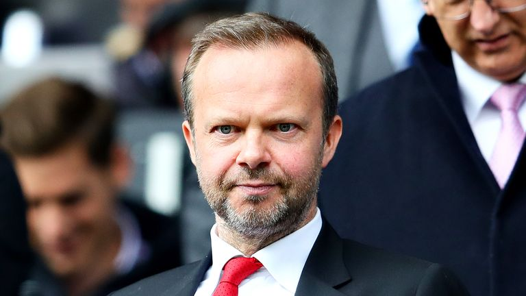 Ed Woodward has been Manchester United's vice-executive chairman since 2012