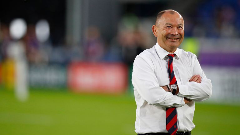 Eddie Jones has barely put a foot wrong during England's run to the World Cup final
