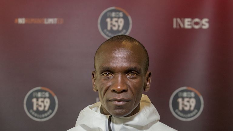 Kipchoge will attempt to run the first sub-two-hour marathon