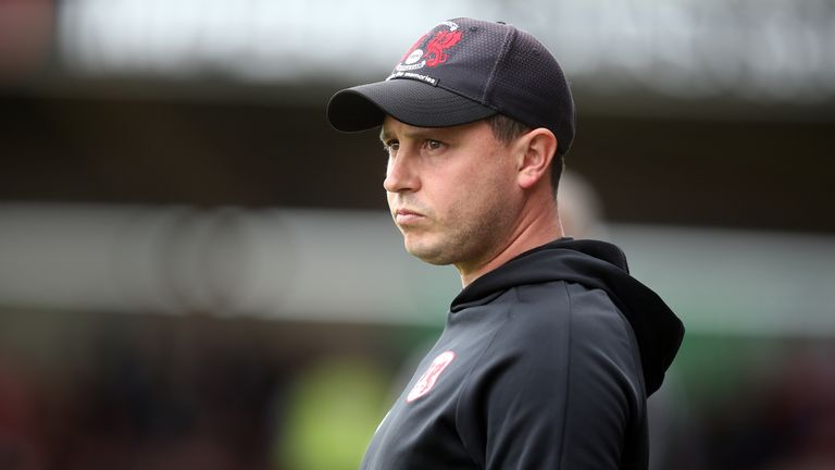 Edinburgh's assistant Ross Embleton has taken over on an interim basis