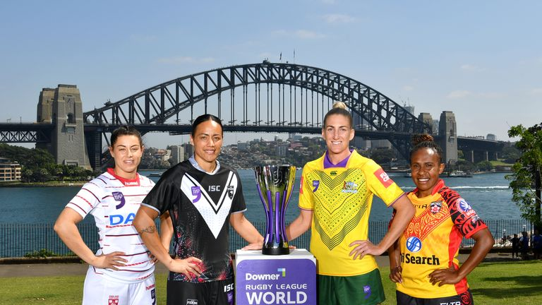 World Cup Nines: Women's teams, squads and ones to watch | Rugby League News |