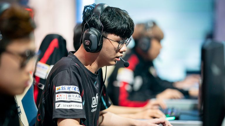 ahq's Alex isn't optimistic about their chances of getting out of groups (Credit: Riot Games)