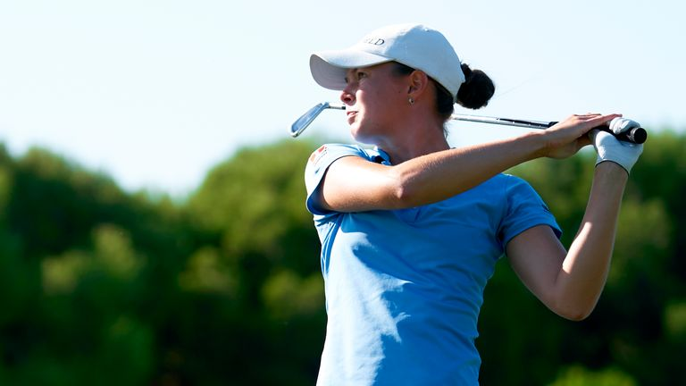 Esther Henseleit is bidding to win the Order of Merit in her rookie LET season