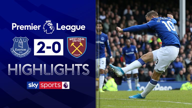 FREE TO WATCH: Highlights from Everton's victory against West Ham