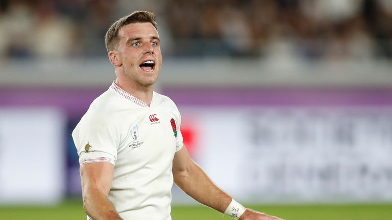 George Ford controlled the tempo of the game for England