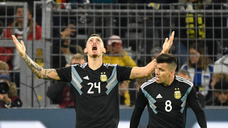 Argentina hold Germany 2-2 in worldwide friendly""