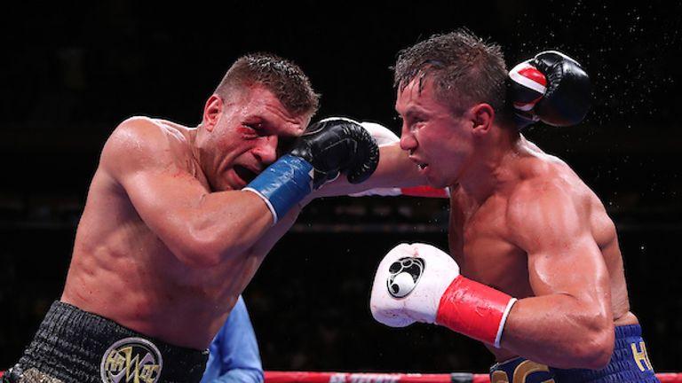 Gennadiy Golovkin and Sergiy Derevyanchenko produced a brilliant fight on Saturday night