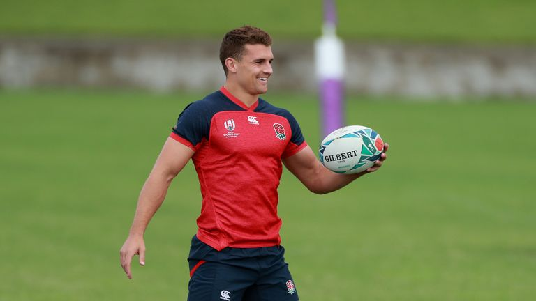 Henry Slade could make his first start of the tournament against France on Saturday