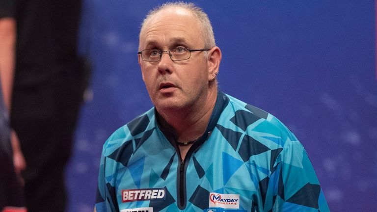 Ian White will be looking to reach the semi-final of a PDC major for the first time