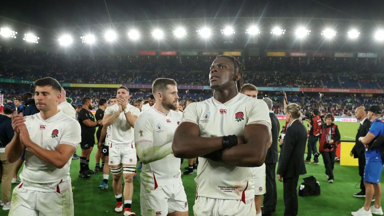 Maro Itoje was a colossus for England in Yokohama