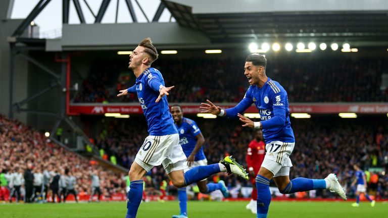 Leicester boss Brendan Rodgers backs midfielder after casino 'mistake — James Maddison