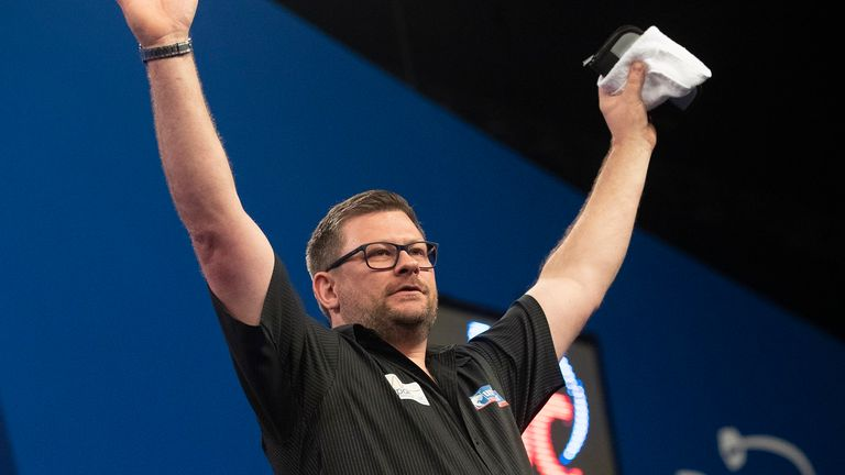 James Wade is back to winning ways in Dublin