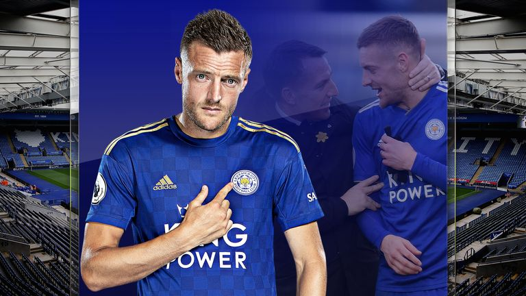 Jamie Vardy's Leicester form analysed with Brendan Rodgers | Football News |
