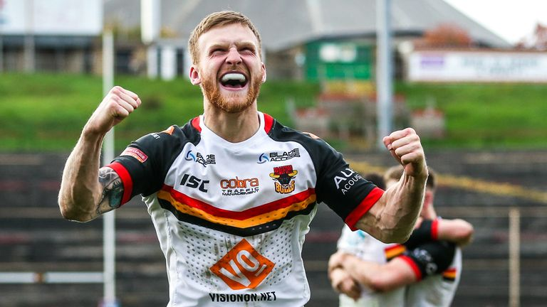 Joe Keyes is among the Bradford players who is joining Hull KR