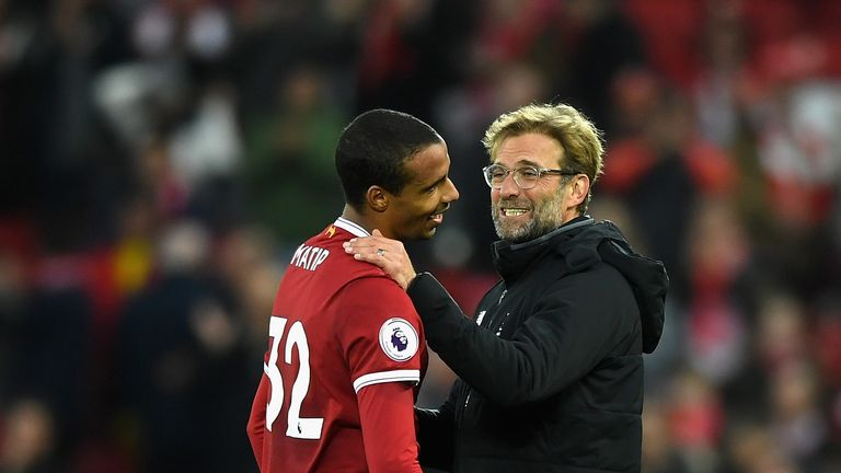 Jurgen Klopp has described Joel Matip as 'world class' following his contract extension