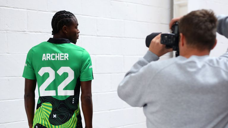 Jofra Archer will also play for a star-studded Southern Brave side in The Hundred