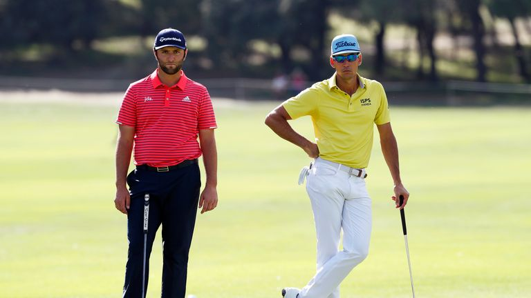 Playing partner Cabrera Bello opened with 12 consecutive pars