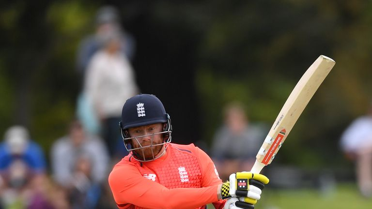 Jonny Bairstow scored 35 at the top of the order in the first game of the series before a golden duck in the second