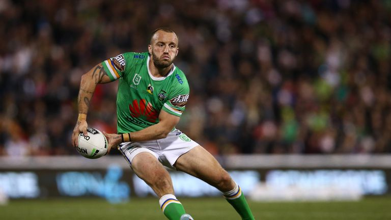Josh Hodgson has been suffering a virus in the build-up to the NRL Grand Final