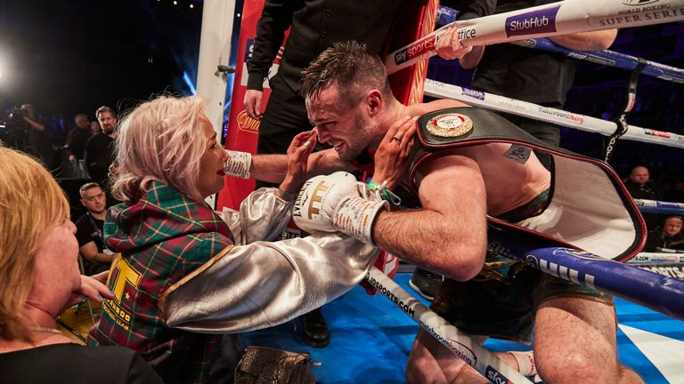 Taylor's girlfriend lost her father shortly before the fight against Prograis
