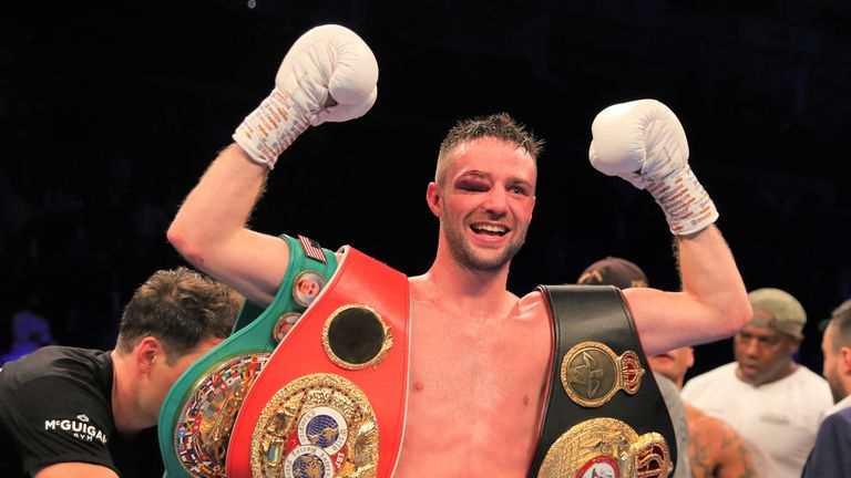 Josh Taylor aims to emulate Crawford by becoming undisputed at super-lightweight
