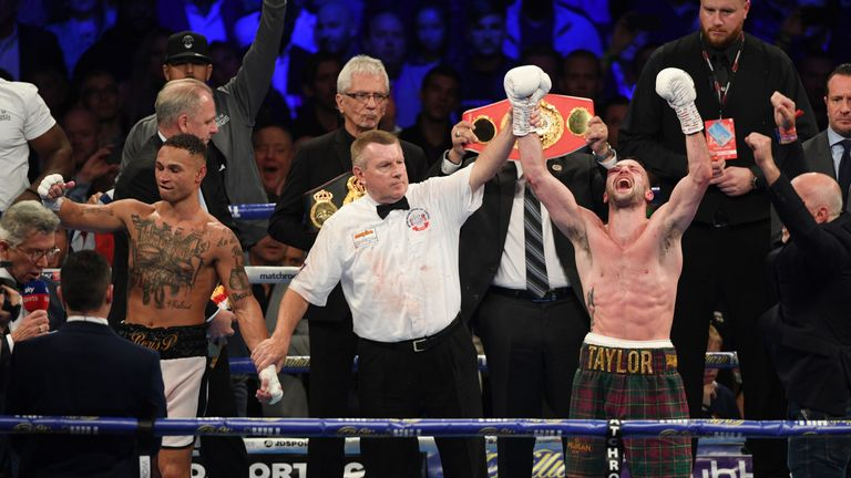 Josh Taylor defeats Regis Prograis to unify IBF and WBA world titles