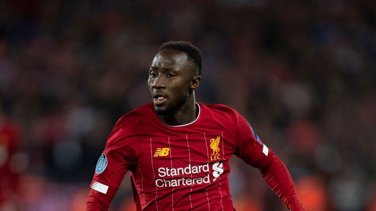 Naby Keita came off the bench in Liverpool's 4-3 win over Red Bull Salzburg