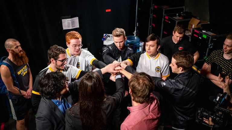 Splyce lost out to J Team, meaning they finished week one of groups 1-2 (Credit: Riot Games)