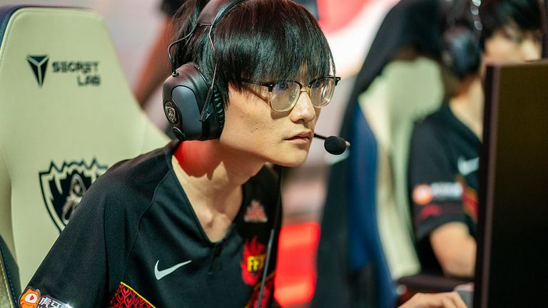 FPX's Tian was one of the best players of the day (Credit: Riot Games)