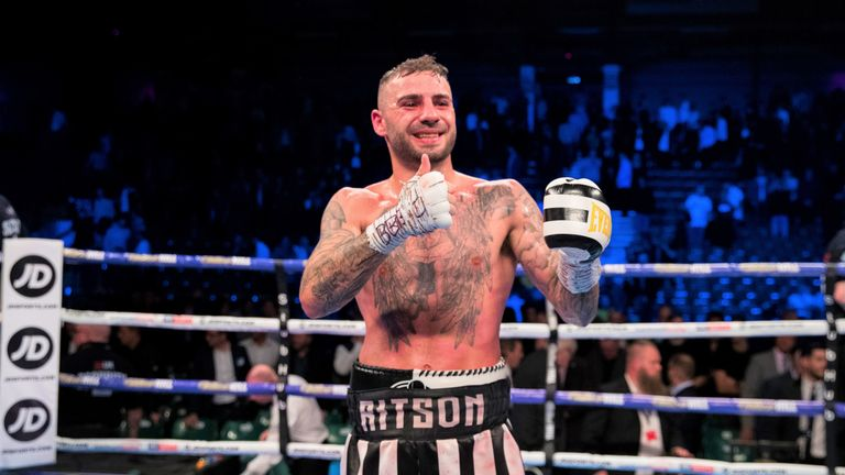 Lewis Ritson could now target a world title fight, says Johnny Nelson