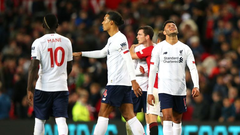 Liverpool struck late to deny Manchester United the win