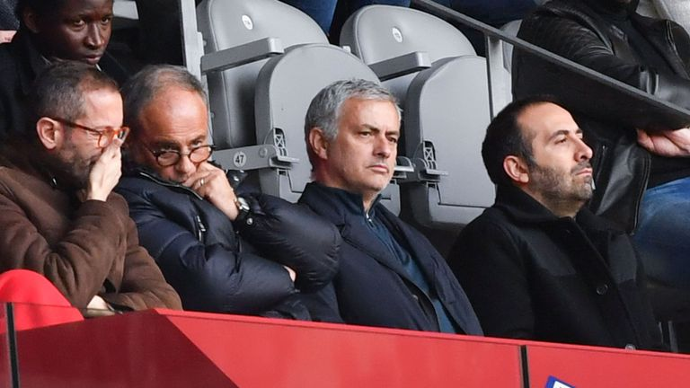 Mourinho with Campos at Lille