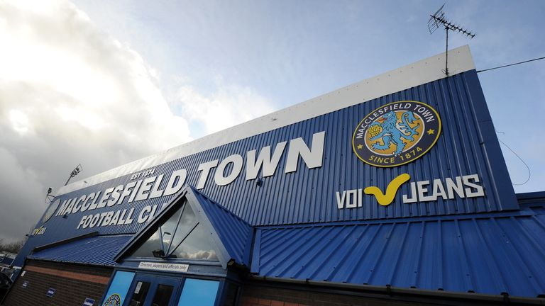 Macclesfield's initial points deduction imposed in late 2019 has been reduced on appeal