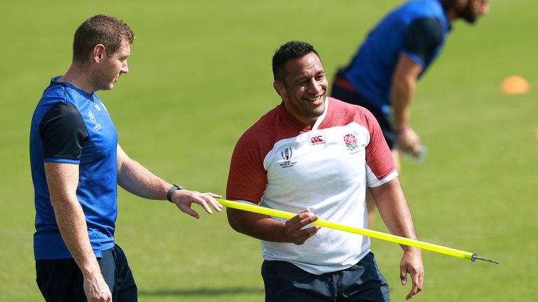 Muko Vunipola is available off the bench for England