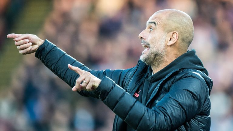 Pep Guardiola believes his side still need to improve in order to be Champions League contenders