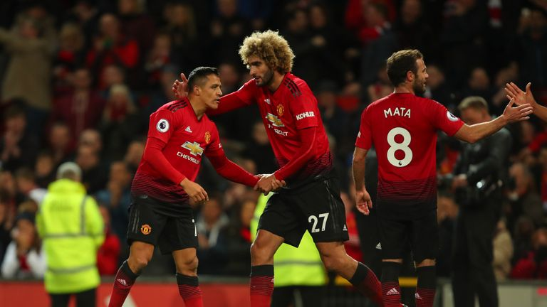 Alexis Sanchez and Marouane Fellaini have been taken off the wage bill