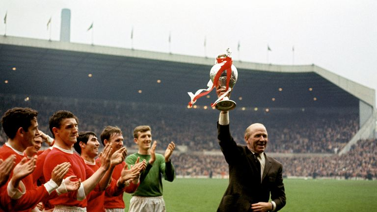 Busby managed Manchester United for 25 years (Pic: Mirrorpix)