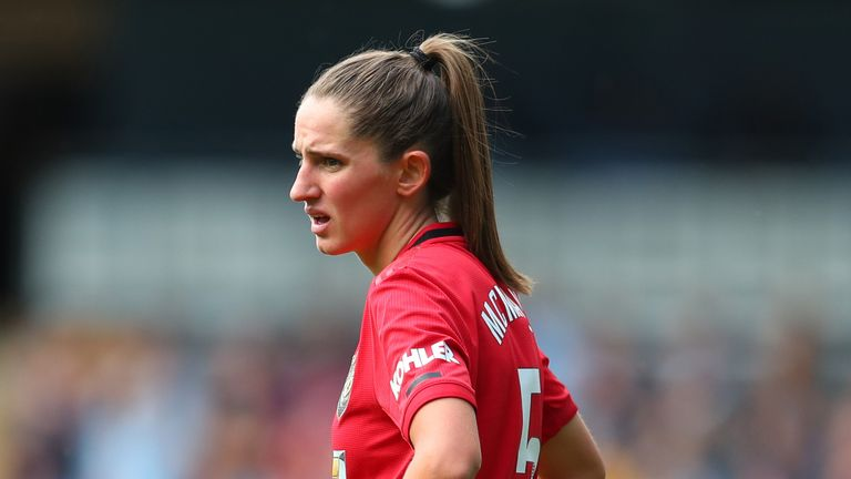 Abbie McManus moved from Manchester City to rivals United in the summer